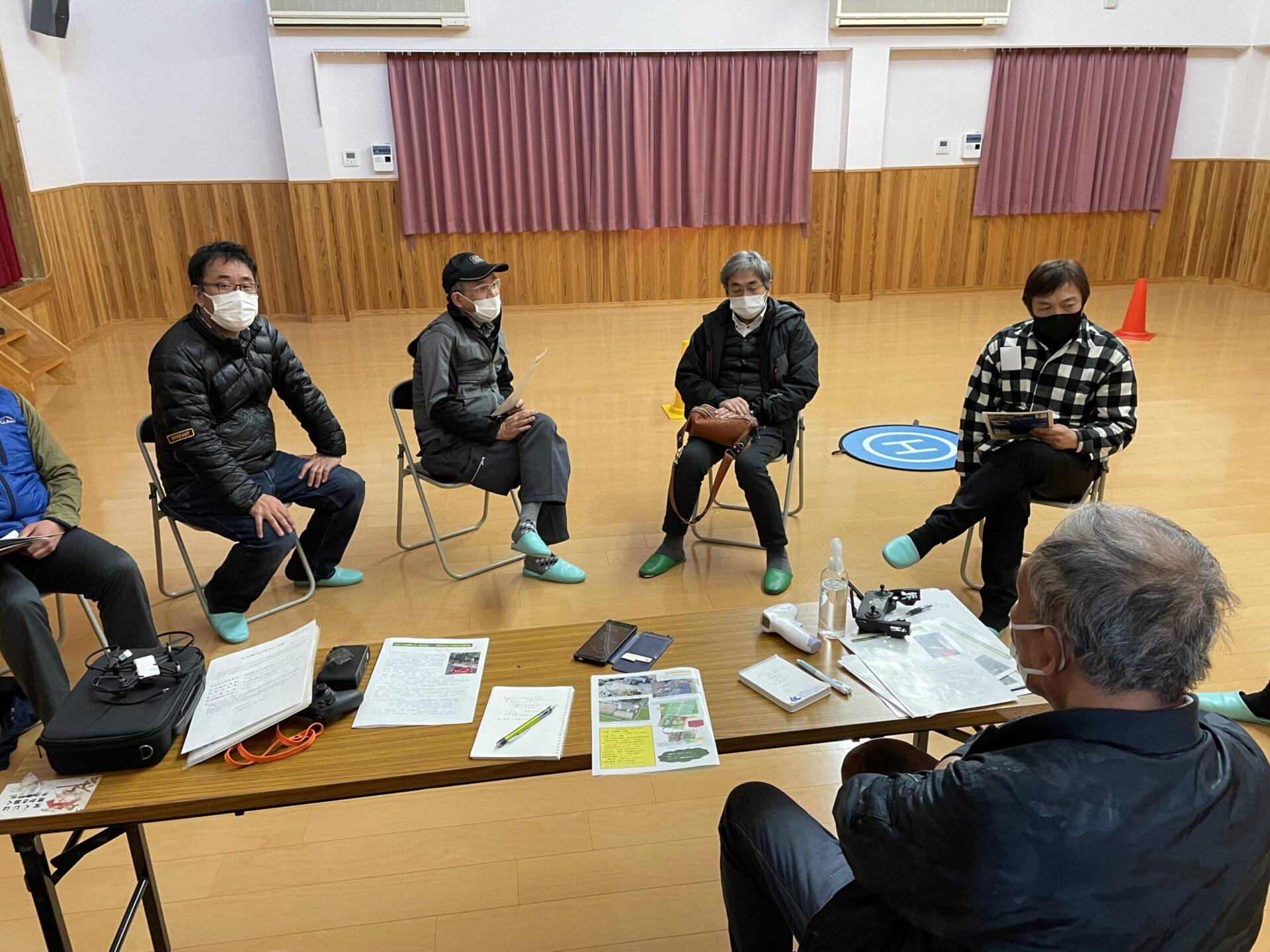 東郷ドローン防災飛行隊
